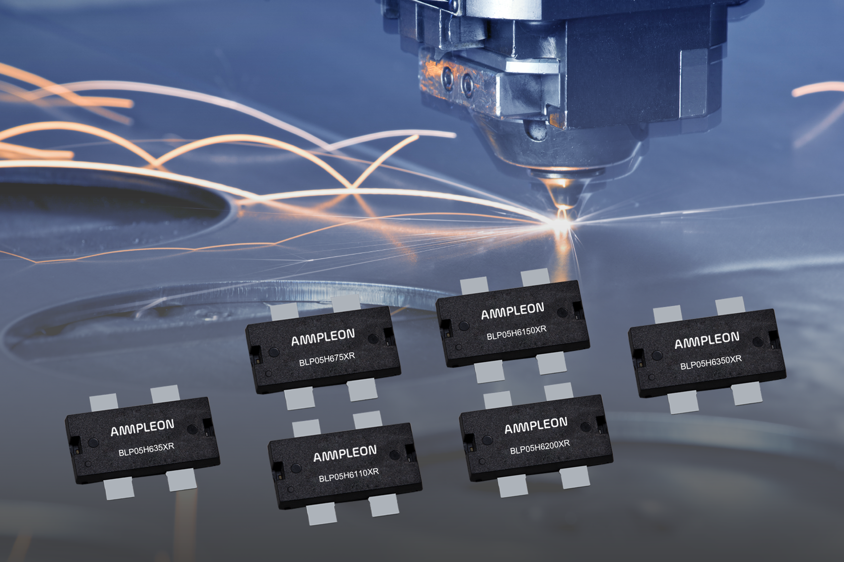 Ampleon's extremely rugged LDMOS RF power transistors for